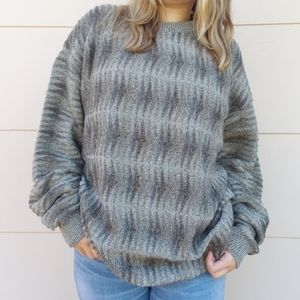 Vintage Croft & Barrow oversized grandpa sweater